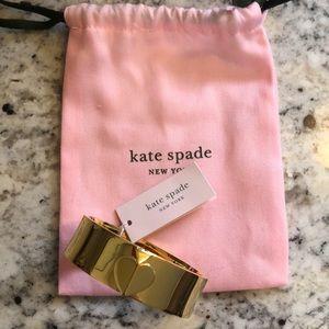 NWT! Kate spade New York heritage spade bangle